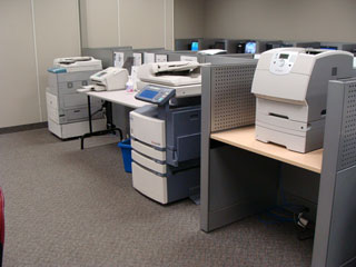 Copiers, faxes and printer